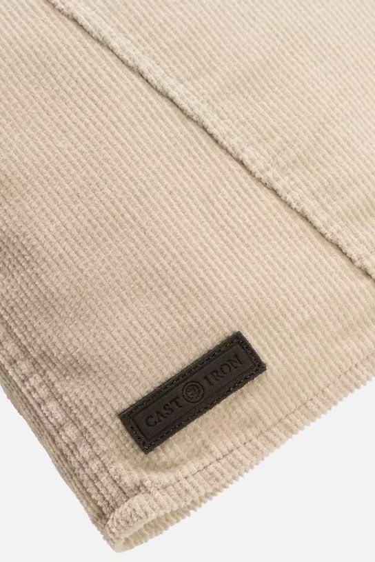Cast iron long sleeve shirt wavy corduroy shirt wit - Cast Iron