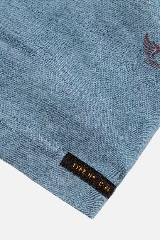 Pme legend short sleeve r-neck single jersey blauw - Pme Legend