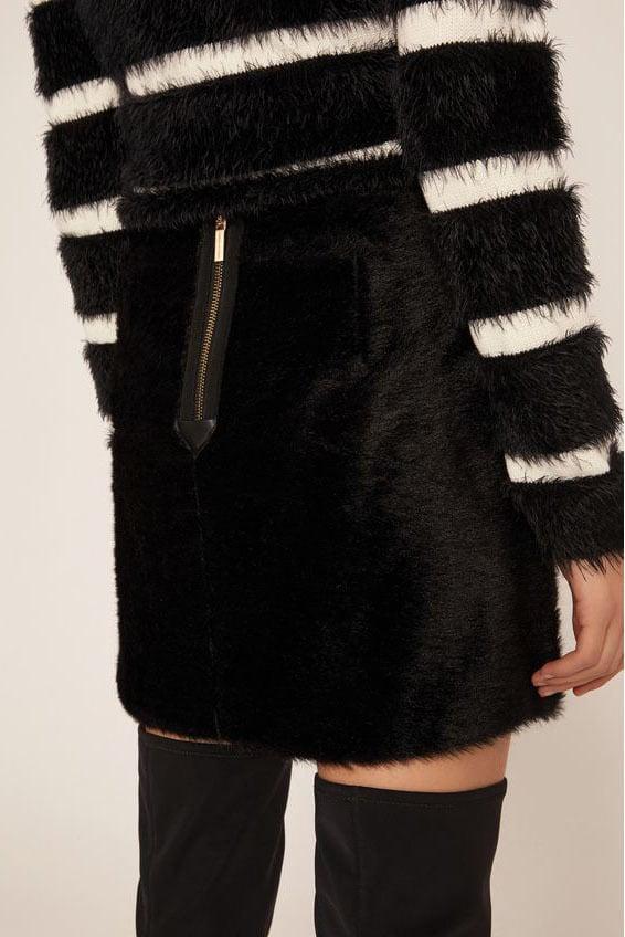 Armani mini skirt black - Armani Exchange
