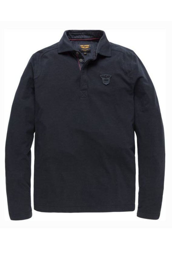 Just brands long sleeve polo barex silver birch - Pme Legend