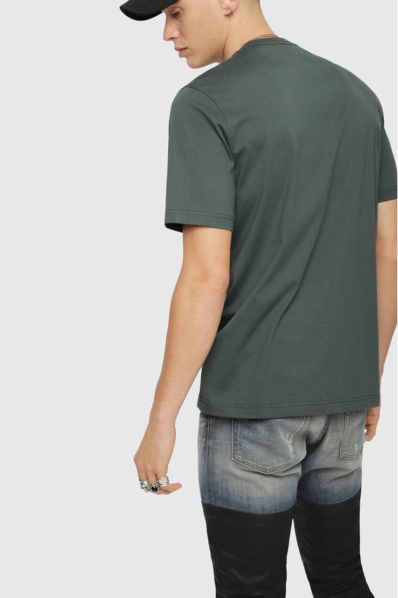 Diesel t-just-xl t-shirt groen - Diesel