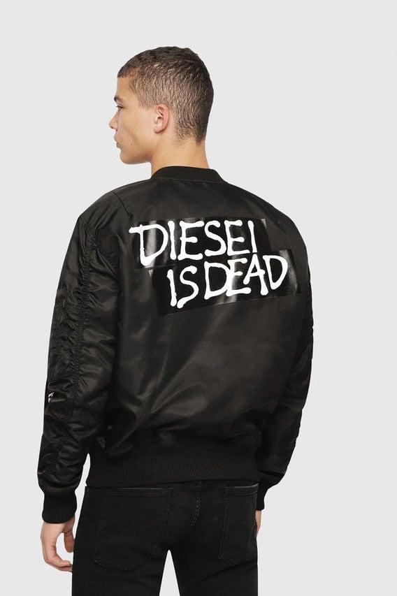 Diesel hc-j-souly-a jacket zwart - Diesel