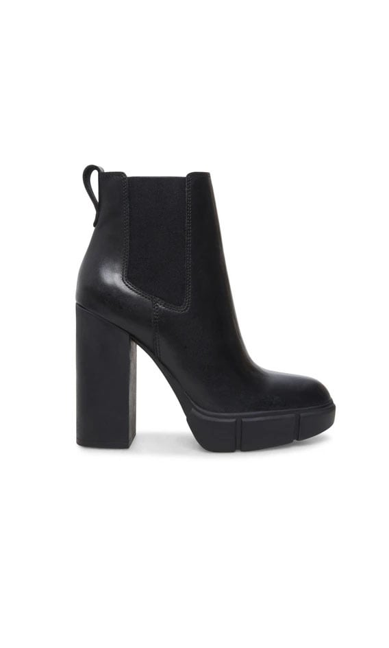 Steve madden revised black leather - Steve Madden