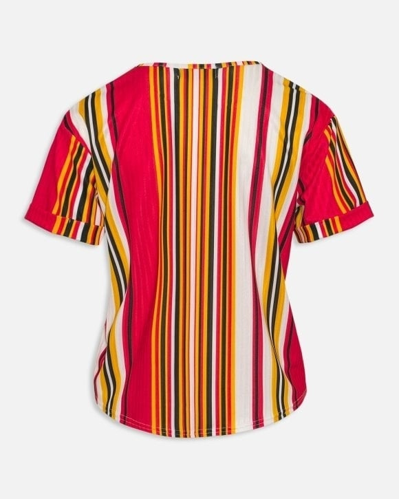 Sisters point numb-11 t-shirt cream/black/red - Sisters Point