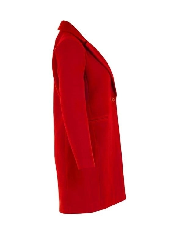 Saint tropez klassieke jas rood - Saint Tropez