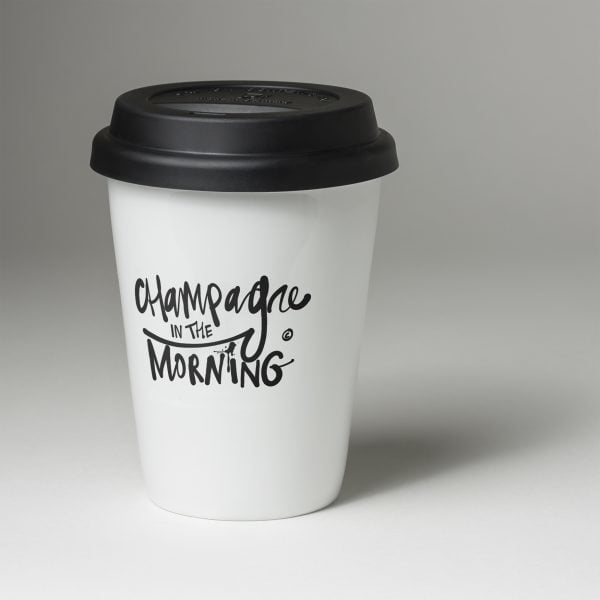 Champagne in the morning travel mug - Champagne In The Morning