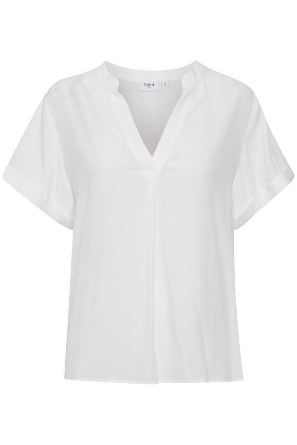 Saint tropez agness t-shirt wit - Saint Tropez