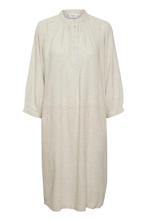 Saint tropez fannasz jurk creme - Saint Tropez