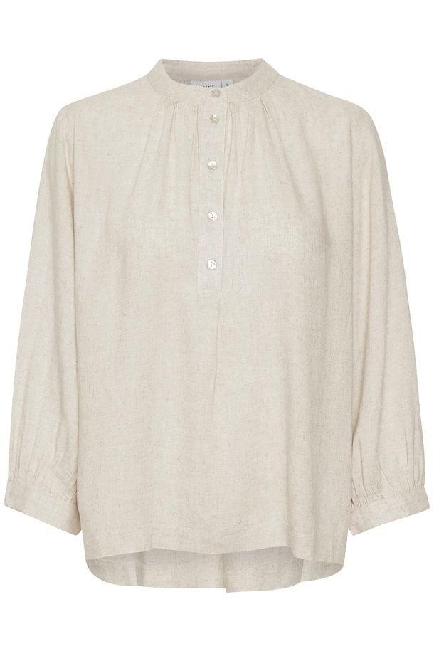 Saint tropez fannasz shirt creme - Saint Tropez