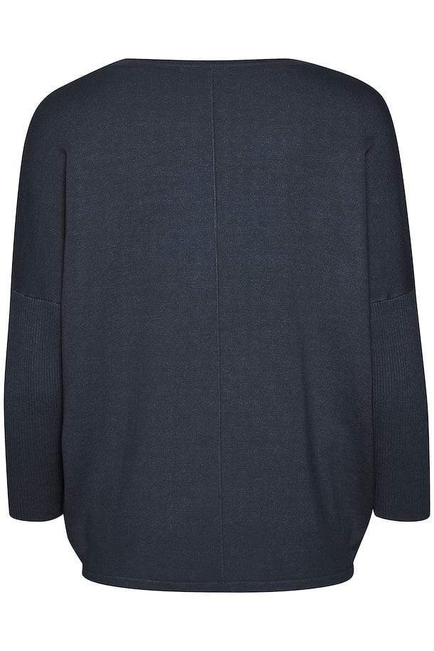 Saint tropez mila sz pullover ombre blue - Saint Tropez