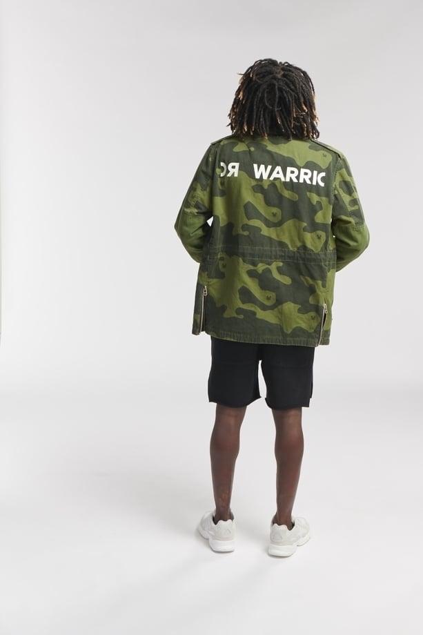 Once we were warriors daro camo trooper jack groen - Once We Were Warriors