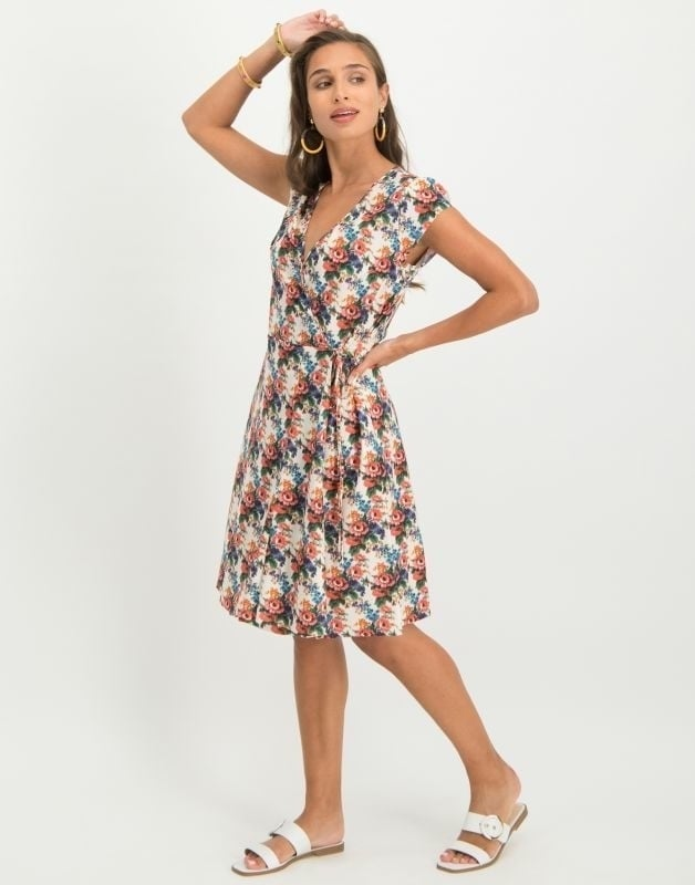 Jane lushka joanne jurk met bloemenprint - Jane Lushka
