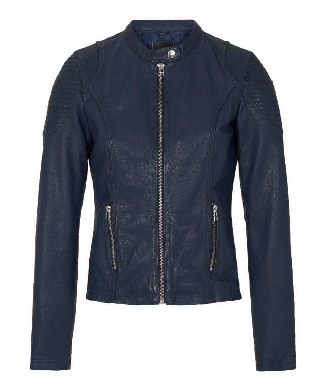 Goosecraft anabel biker jas blauw - Goosecraft