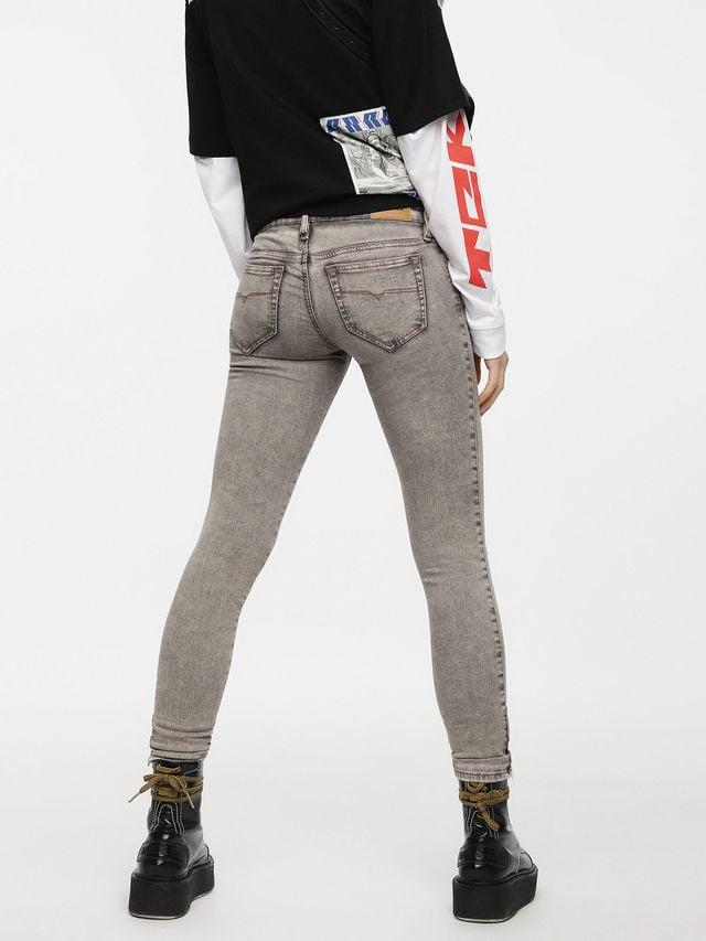 Diesel skinzee low zip jeans 084up - Diesel