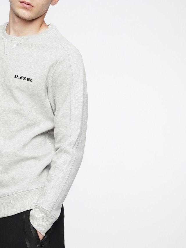 Diesel s-tina sweatshirt grey - Diesel