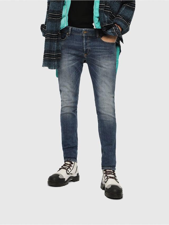 Diesel sleenker 082ab jeans medium blauw - Diesel