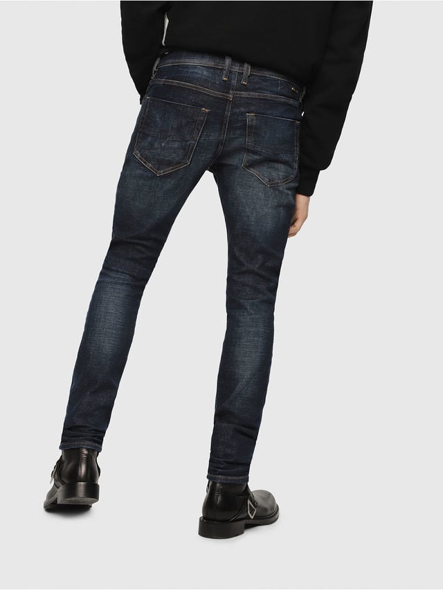 Diesel teppher slim jeans donker blauw - Diesel