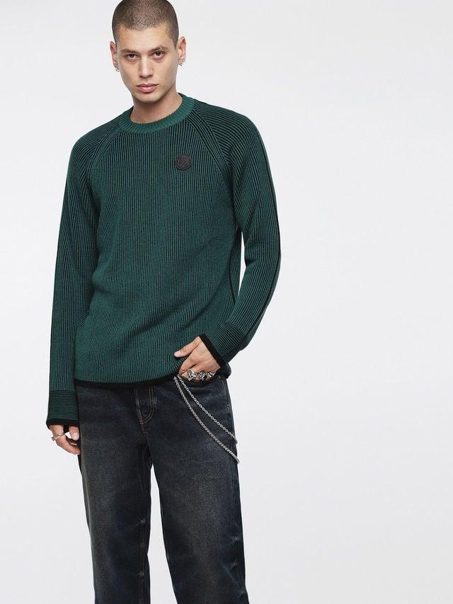 Diesel k-blend pullover green - Diesel