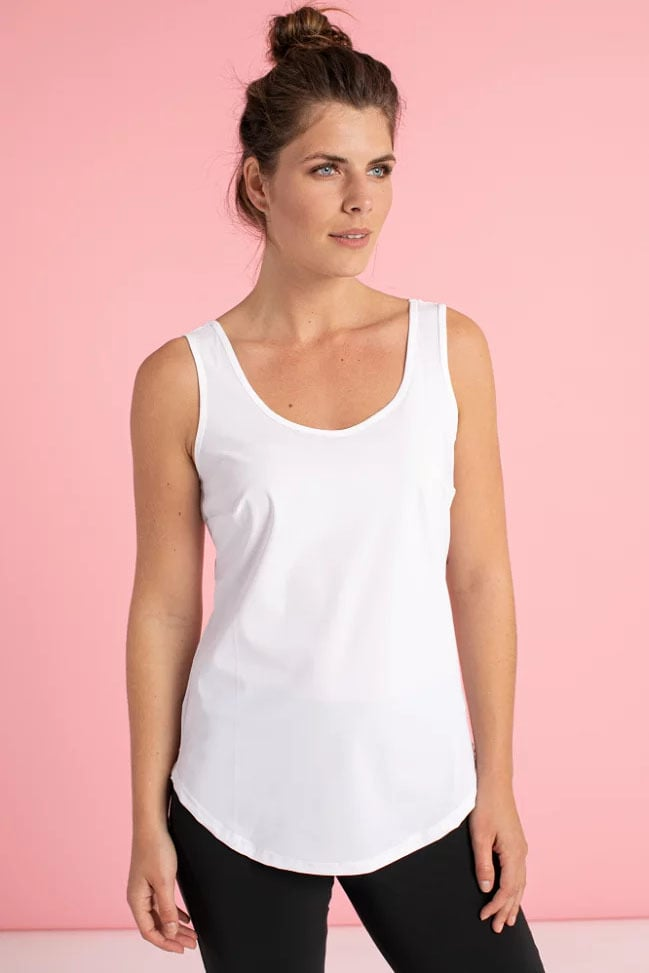Studio anneloes race basic top wit - Studio Anneloes