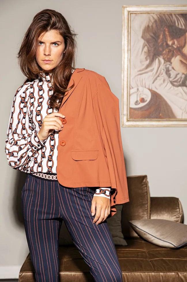 Studio anneloes bright bonded blazer - Studio Anneloes