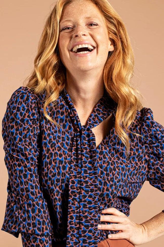 Studio anneloes lina leopard shirt - Studio Anneloes
