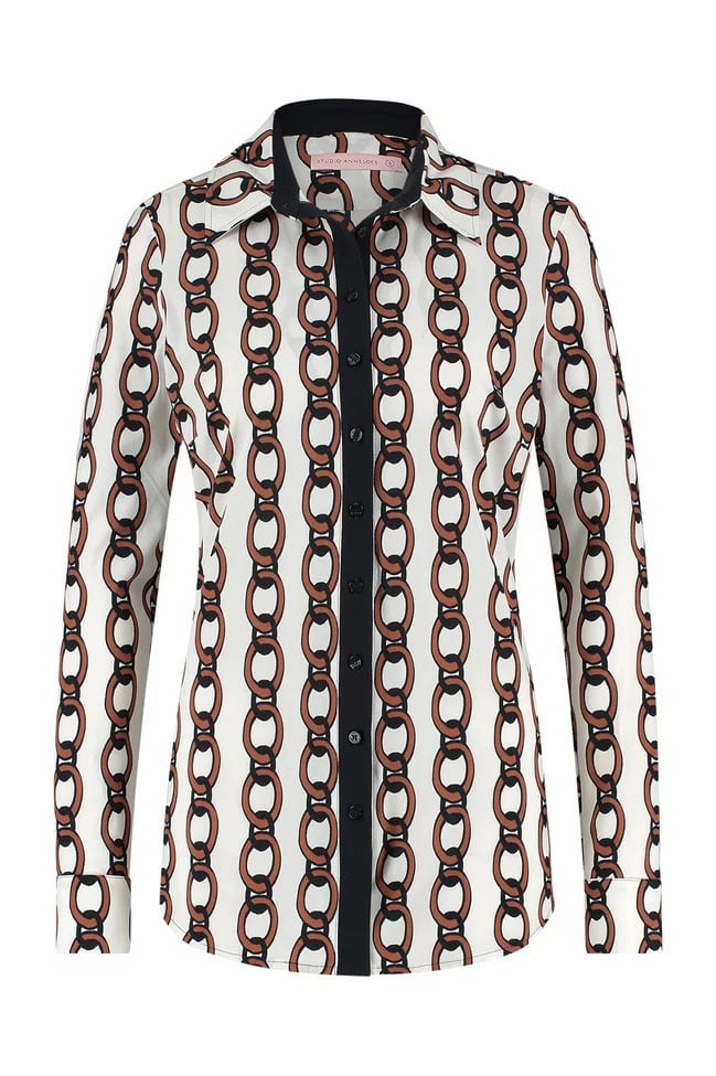 Studio anneloes poppy chain blouse - Studio Anneloes