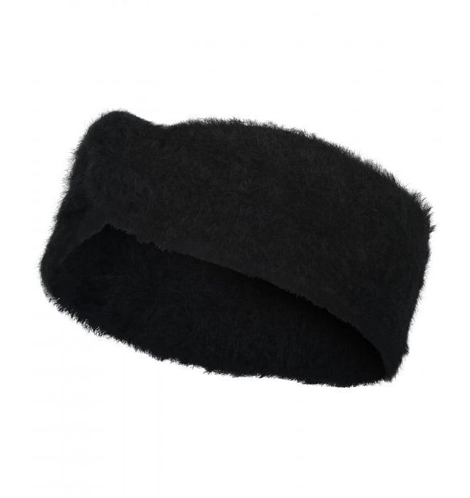 Catwalk junkie fuzzy hoofdband zwart - Catwalk Junkie