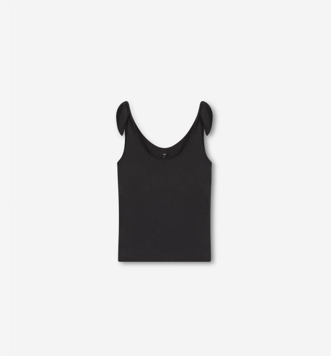 Alix jersey top dark grey - Alix The Label