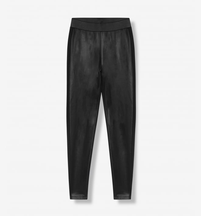 Alix the label coated legging black - Alix The Label