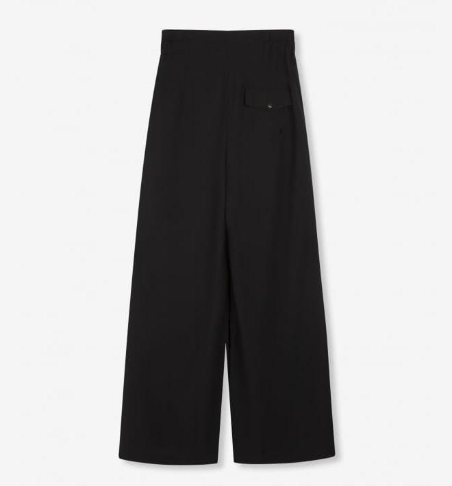 Alix the label wide leg pants zwart - Alix The Label