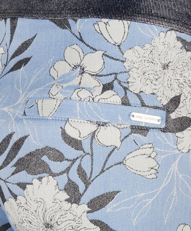 Jane lushka lena broek floral blauw - Jane Lushka