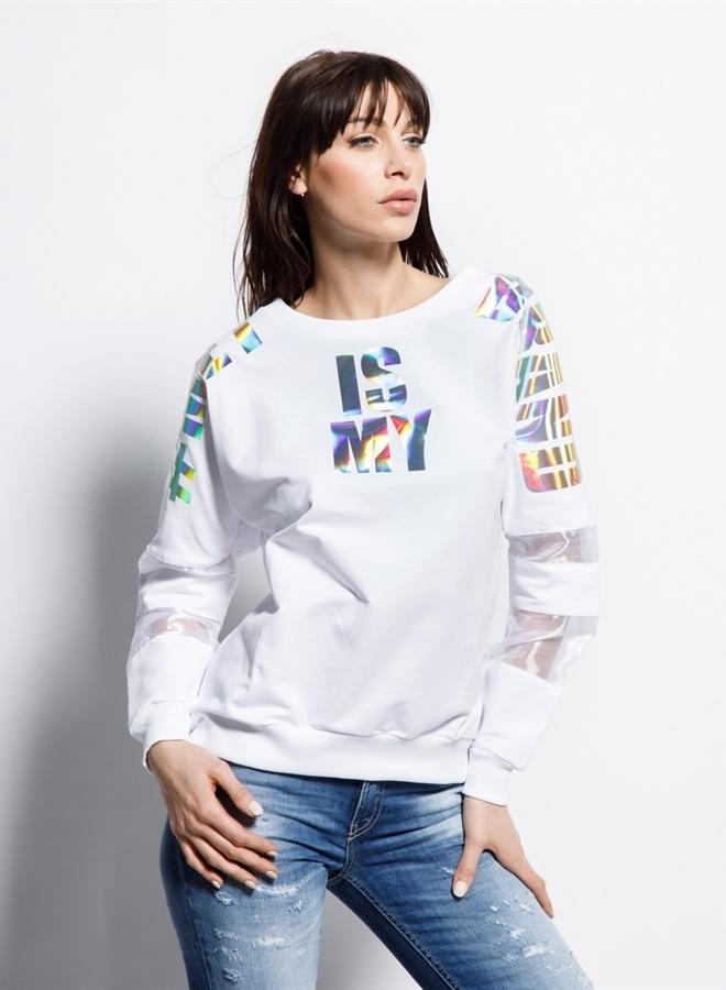 Met patricia sweater white - Met Jeans