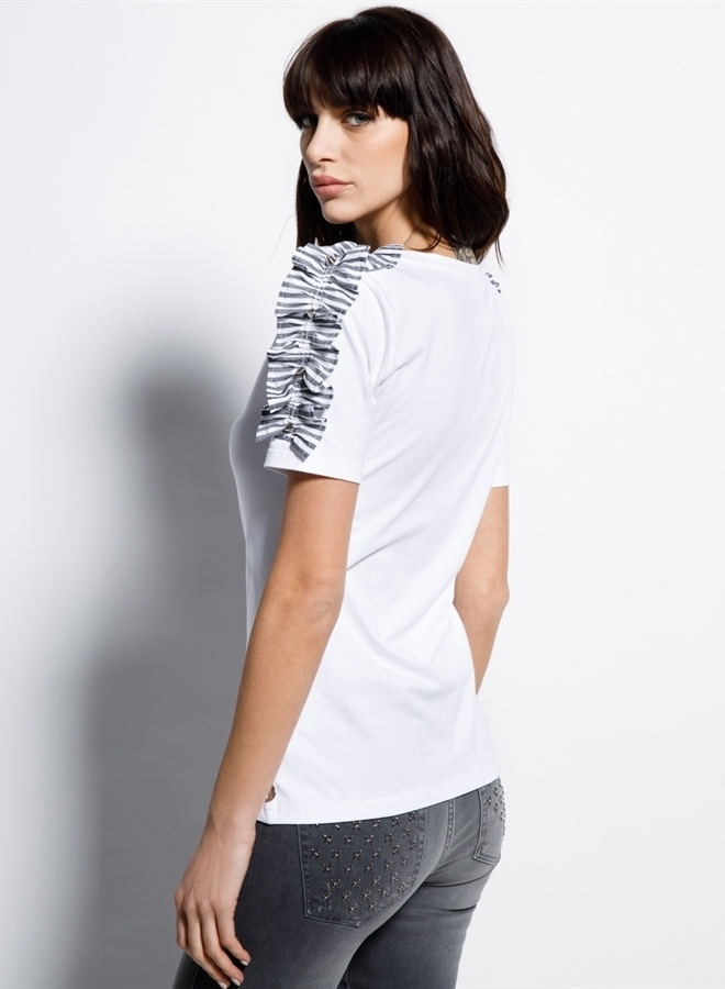 Met parry t-shirt white - Met Jeans
