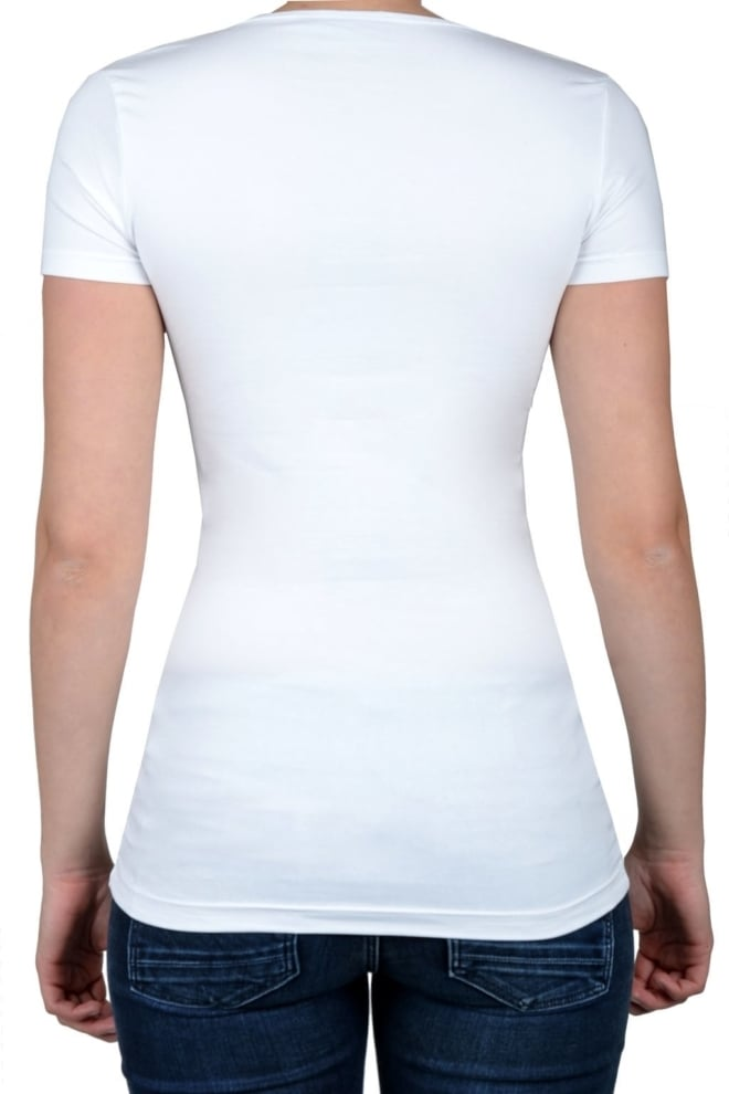 White t-shirt women short sleeve - Fashionating People