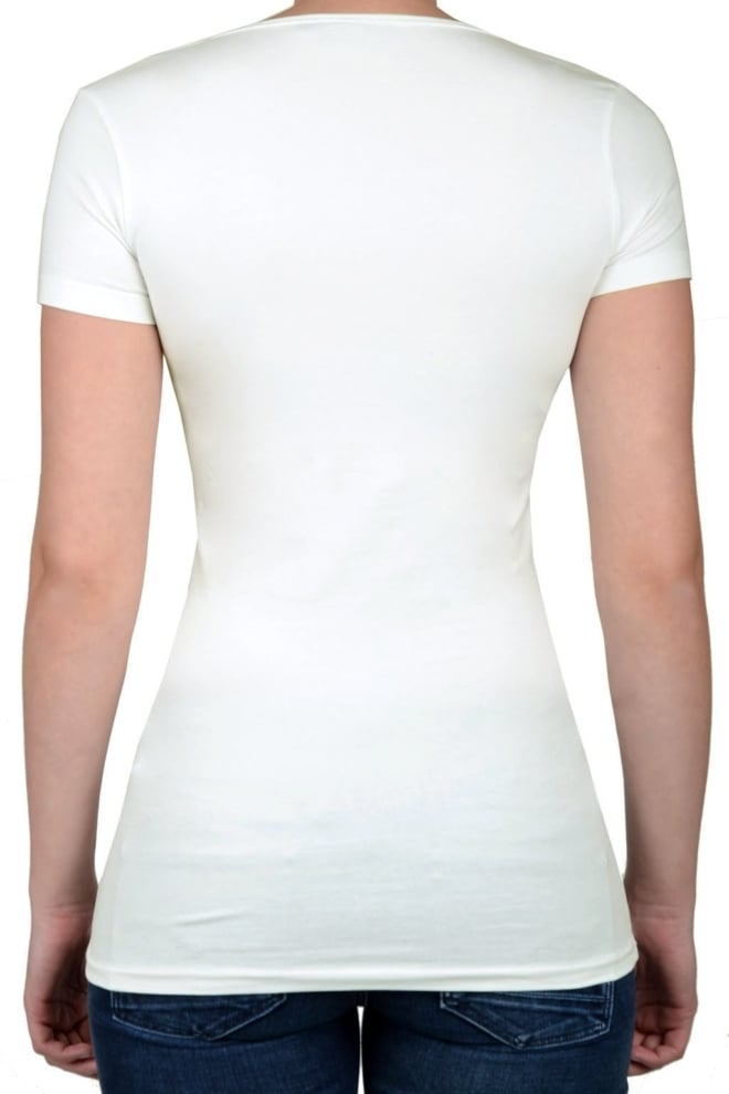 Off-white t-shirt women short sleeve - Fashionating People