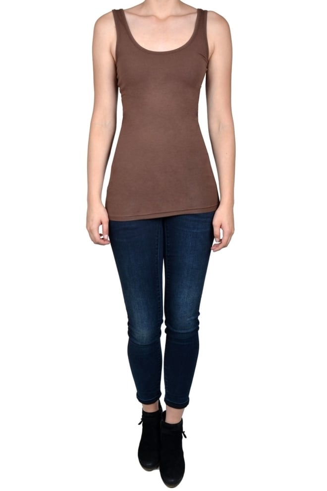 Singlet women brown - Fashionating People