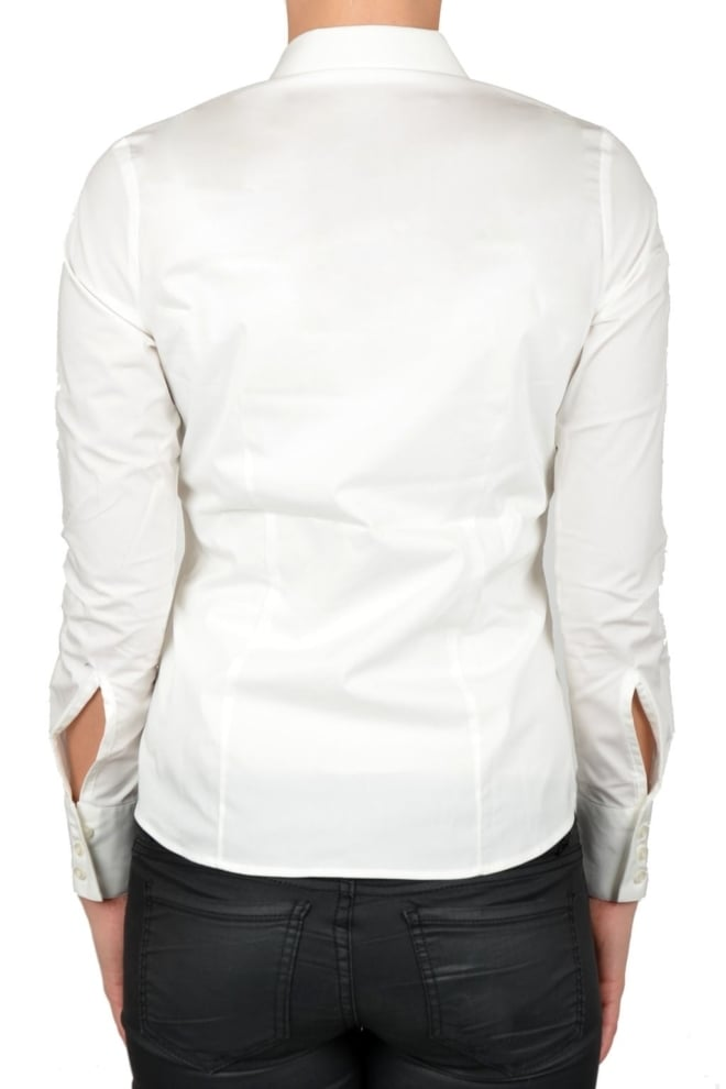Off-white blouse women - Fashionating People