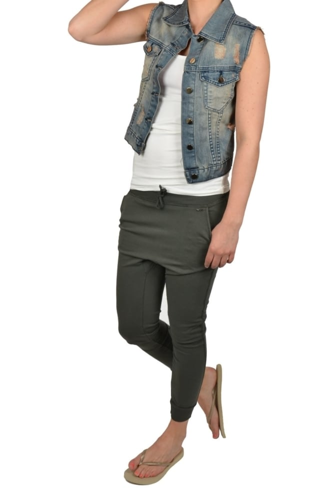 Gilet indigo 712/bleached denim 09 - Collection Prc