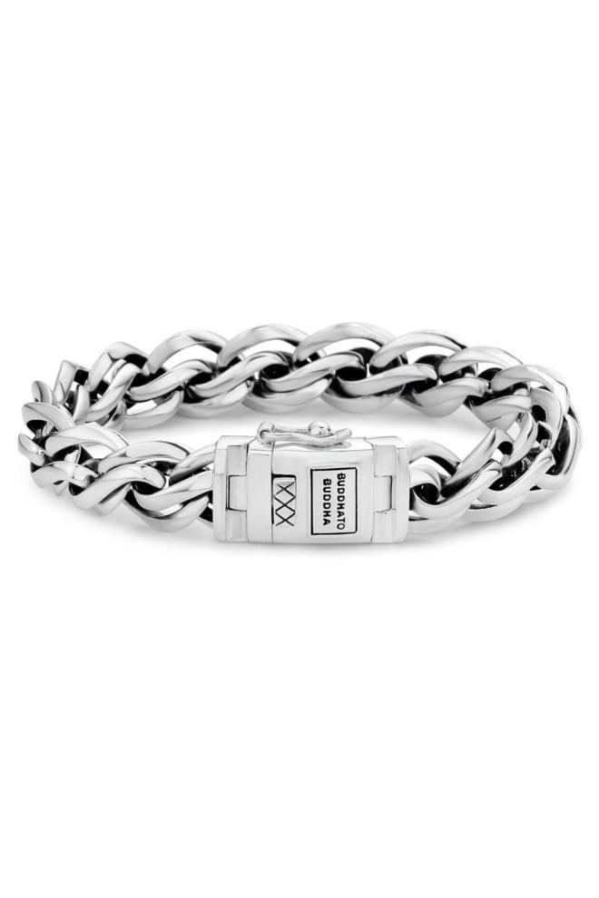 Francis bracelet 826 men silver 012 - Buddha To Buddha