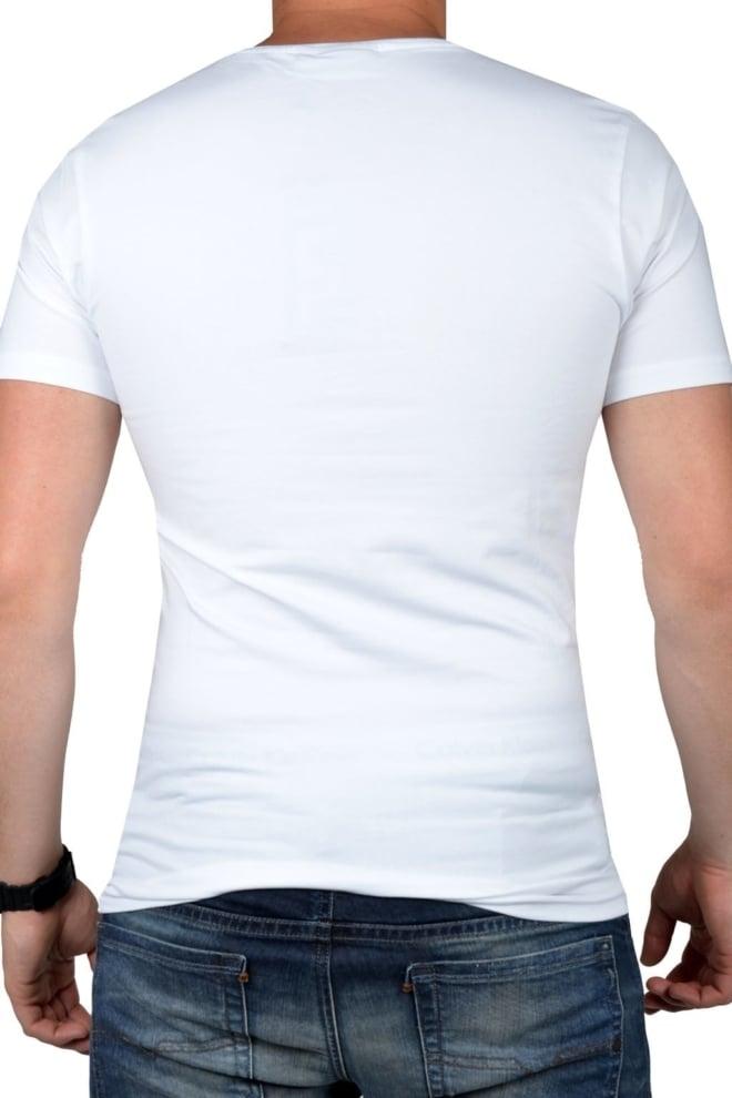 White t-shirt men o-neck - Fashionating People
