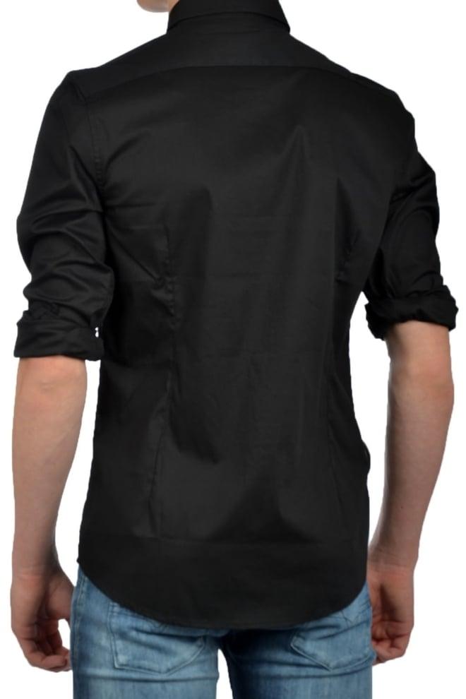 Antony morato shirt long sleeve black - Antony Morato