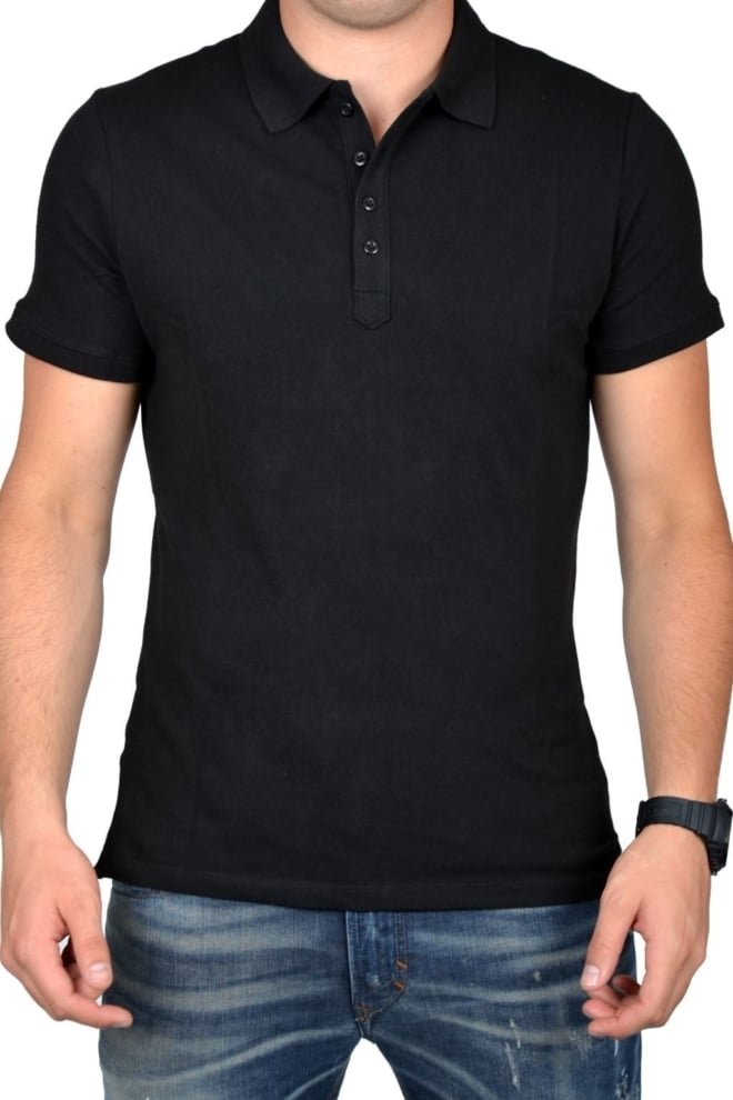 Polo men black - Fashionating People