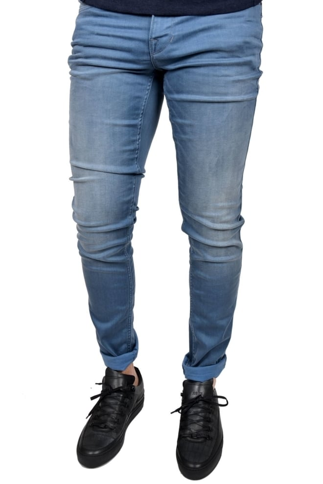 Nightflight steel grey stretch denim-sgs - Pme Legend