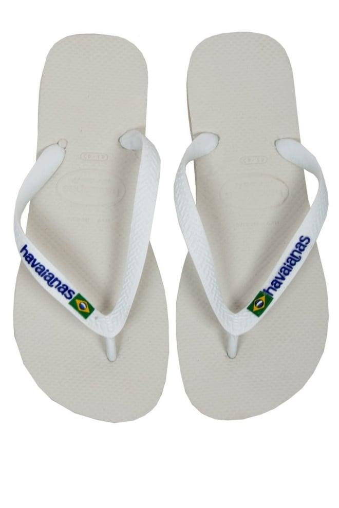 Brasil logo white 013 - Havaianas