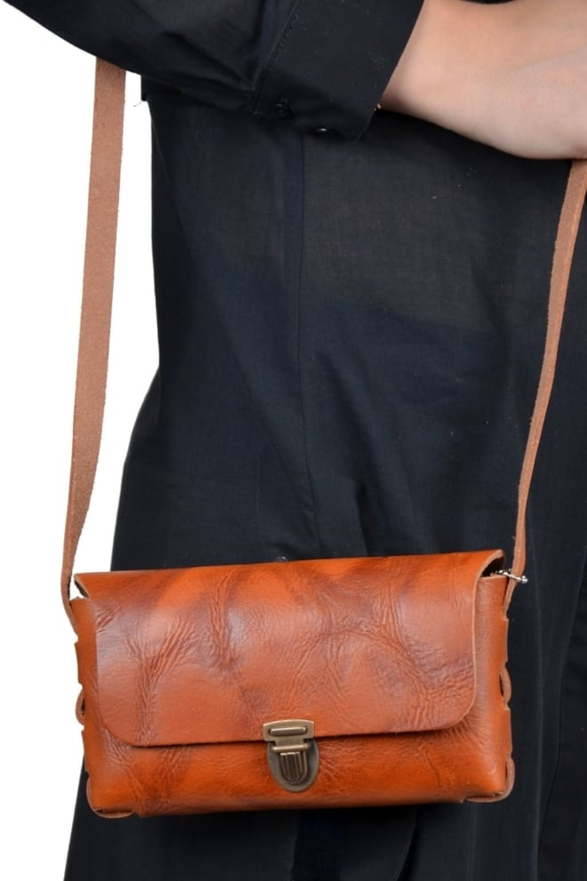 Melissa barani cognac  014 - Elvy Fashion