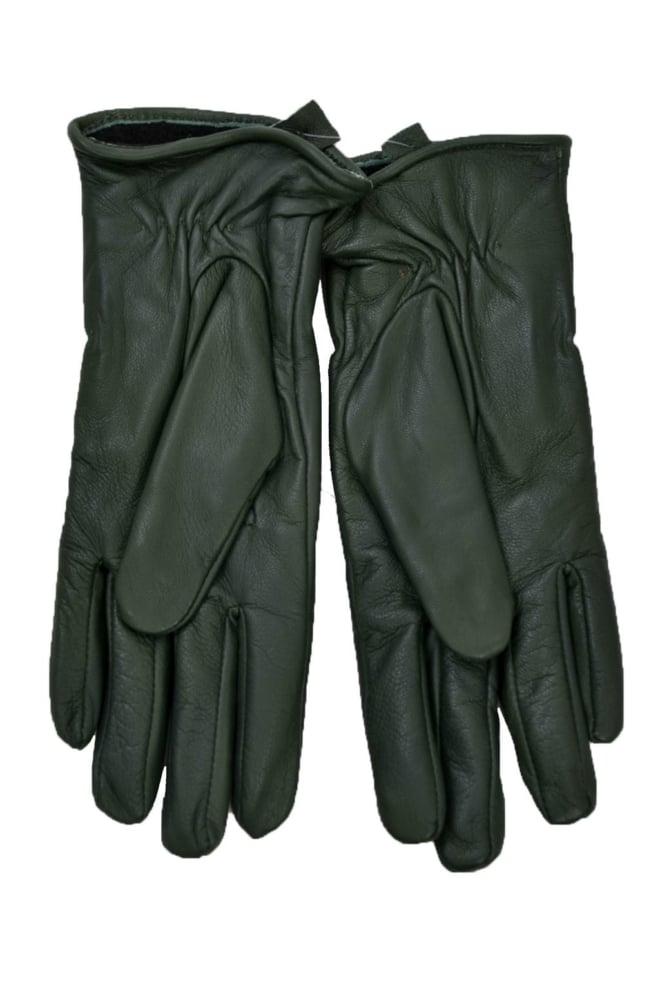 101631065 gloves100/bottle-green 014 - Goosecraft
