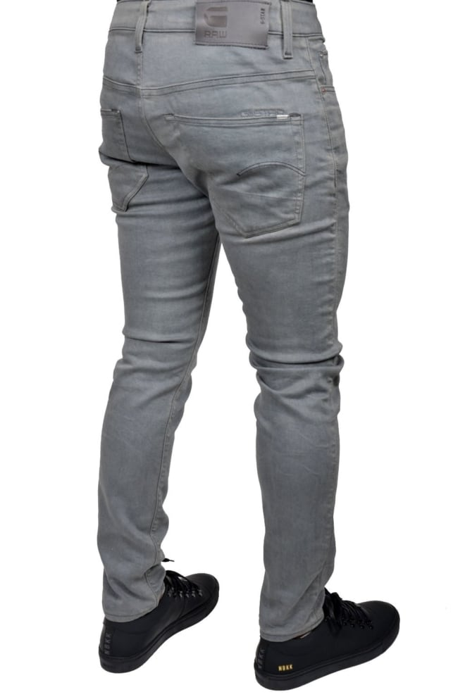 3301 slim lt aged cobler 6521 014 - G-star Raw