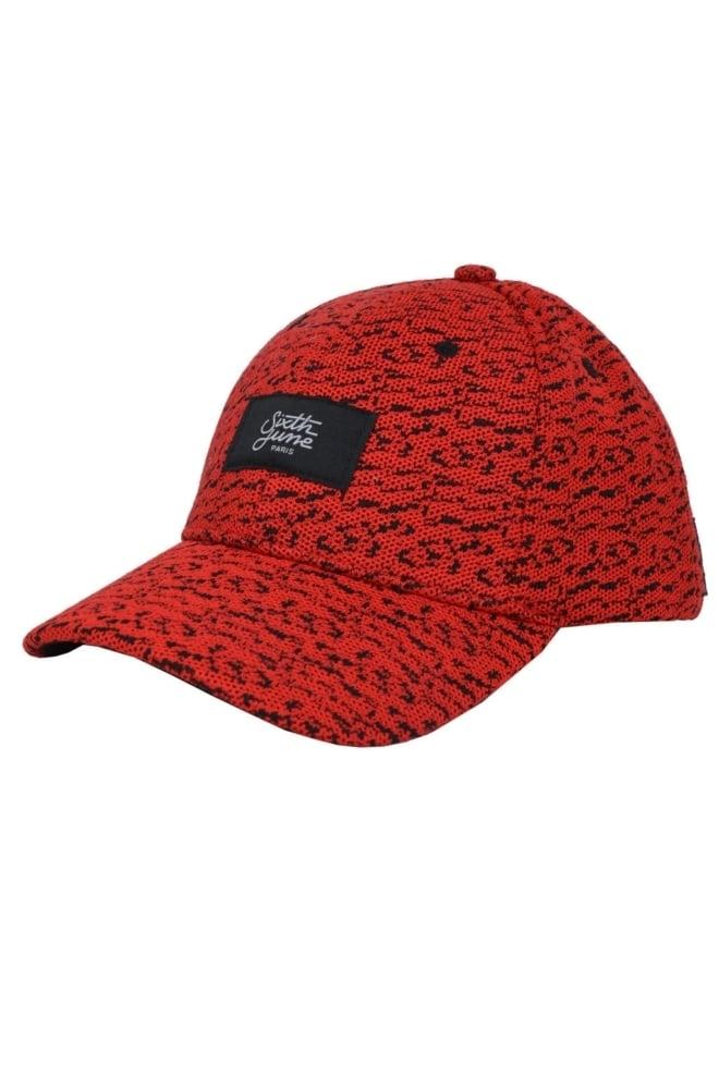 Cap red 014 - Sixth June