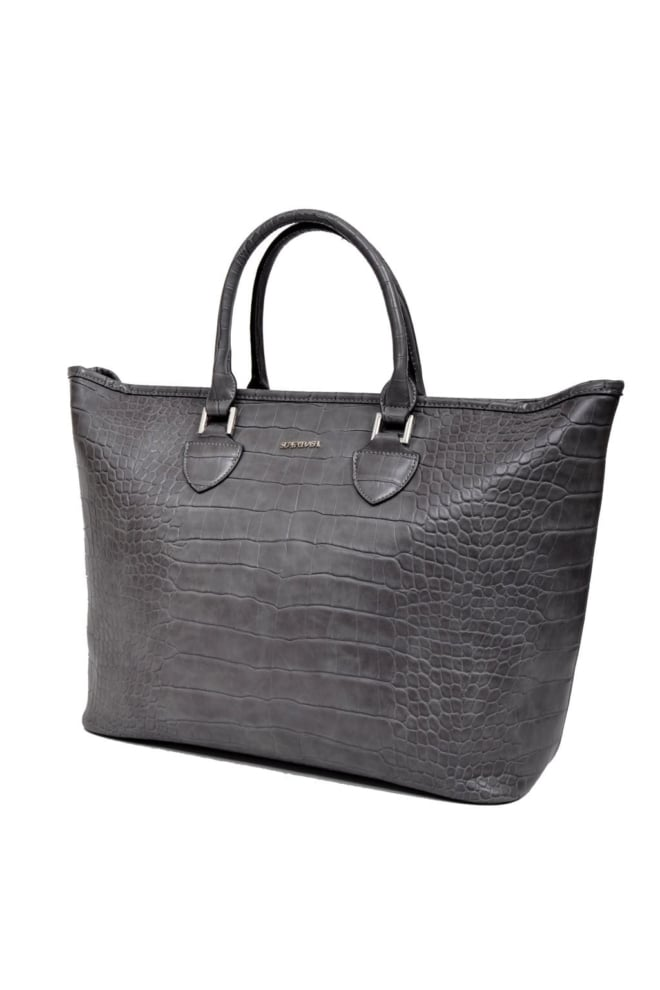 Awm16005 alabama shopper croc grey 014 - Supertrash
