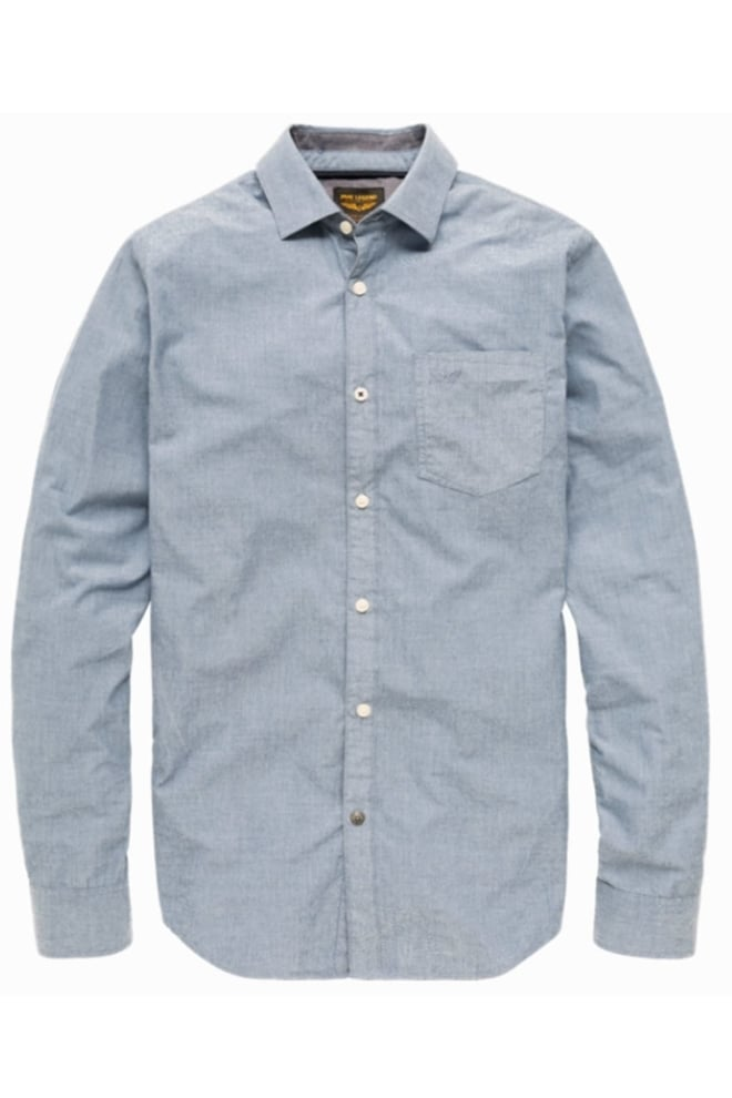 Pme legend fil a fil shirt office blue
